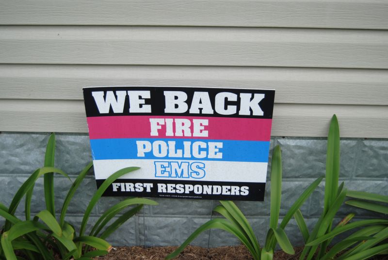 We Back First Responders